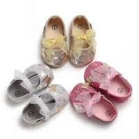 prewalker 0 18 months baby bow hollow breathable princess shoes flat shoes baby soft bed shoes walking shoes