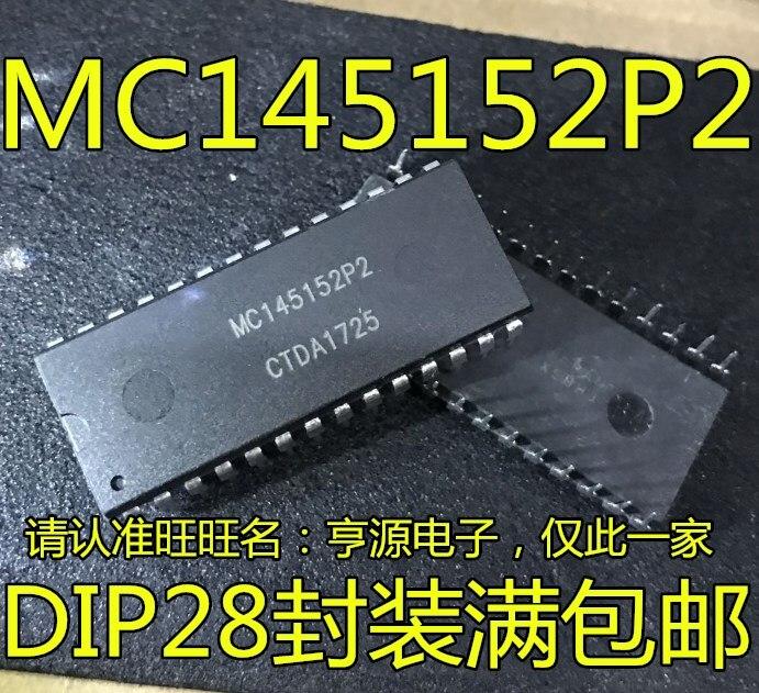 MC145152 MC145152P2 DIP-28
