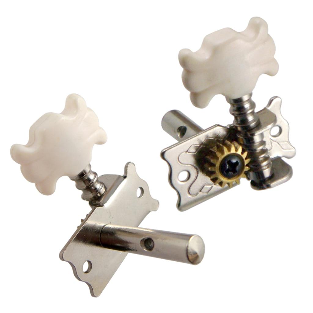6Pcs Tuning Pin Semi Geschlossene Legierung Für Akustische Gitarren Tuner Tasten
