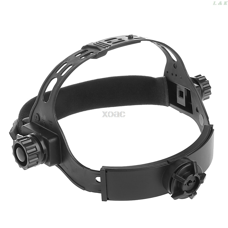 Adjustable Welding Welder Mask Headband Solar Auto Dark Helmet Accessories   M12 dropship