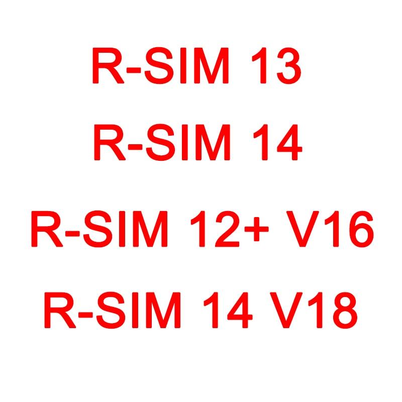 RSIM 12 + V16, R-SIM13, R-SIM 14, R-SIM 14 V18 versión de menú bomba automática desbloqueado perfectamente tarjeta para iPhone XS Max XR X 8 7 6 5S