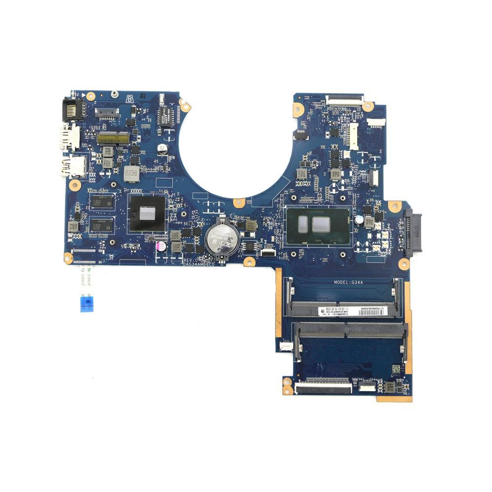 100% اللوحة العمل 859248-601 G34A DAG34AMB6C0 w/ i7-6500U CPU + 940MX GPU ل HP 15-AU