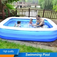 family kids adult inflatable swimming pool outdoor garden yard water floating outdoor hot tubs bathtub