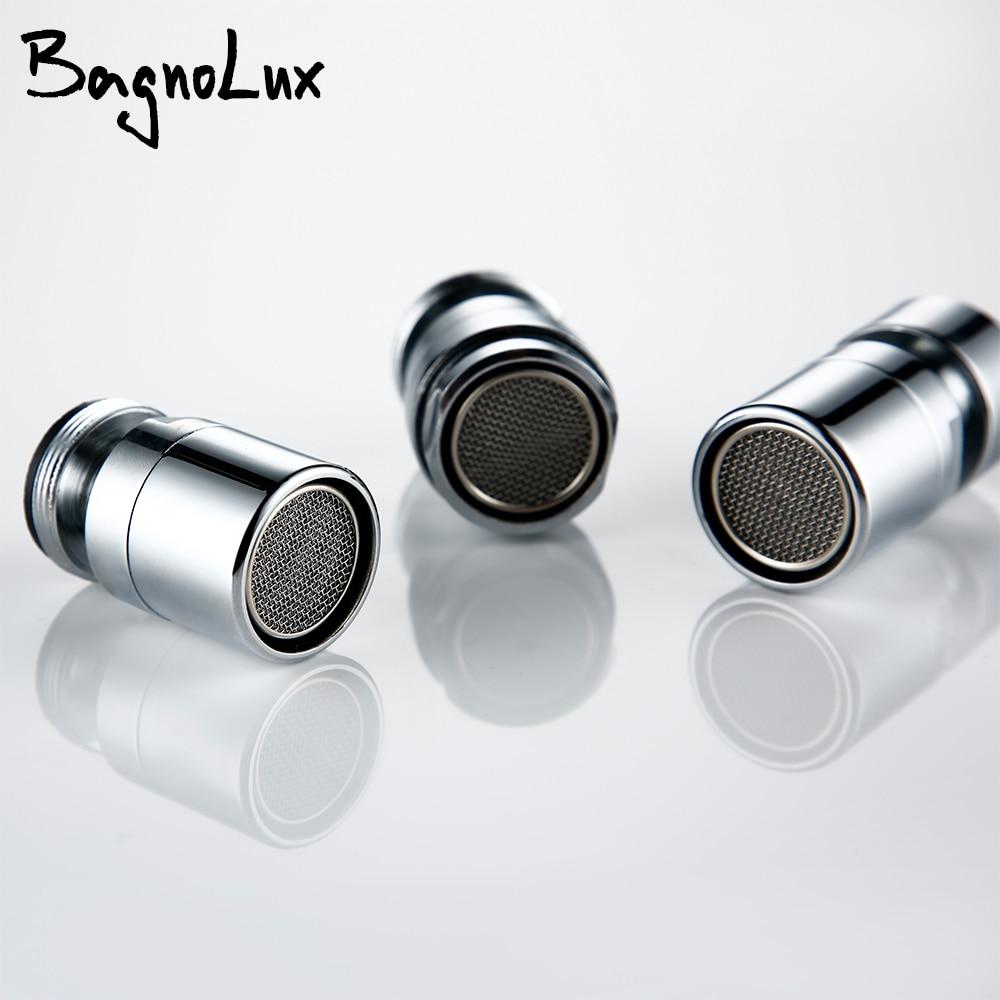 BagnoLux поворотный Многофункциональный экологичный водосберегающий аэратор для смесителя полный носик барботер фильтр аксессуары основная часть
