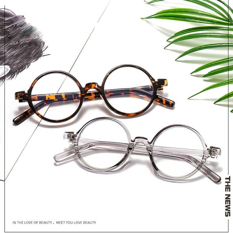 2021 Round Anti Blue Light Eyeglasses Frames Computer Clear Glasses Women Men Optical Spectacles Gam