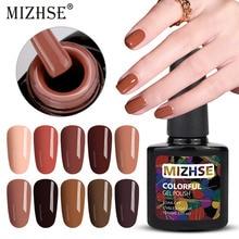 MIZHSE-vernis UV pour vernis à ongles, Gel acrylique, plusieurs couleurs, promotion pour Nail Art, multicolore, 10ML