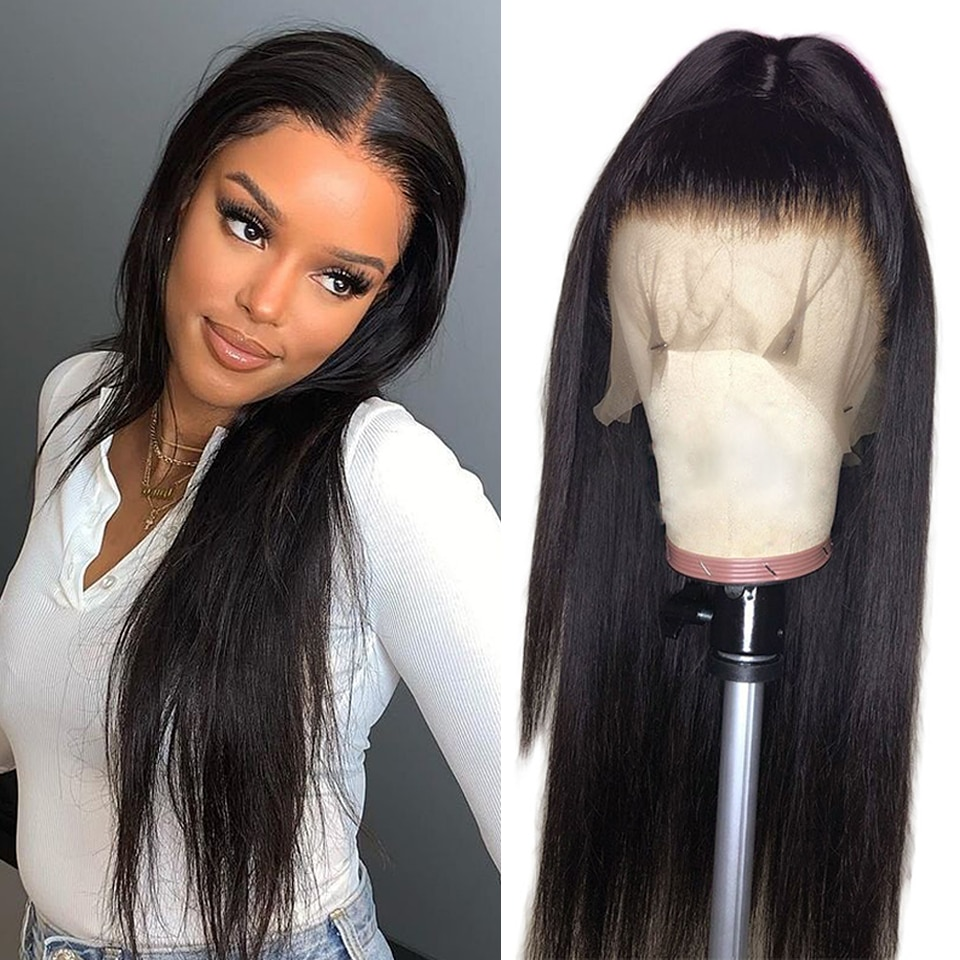 Exquisite Looks 13x4 Lace Front Human Hair Wigs Straight Lace Front Wig for Women 4x4 Lace Closure W