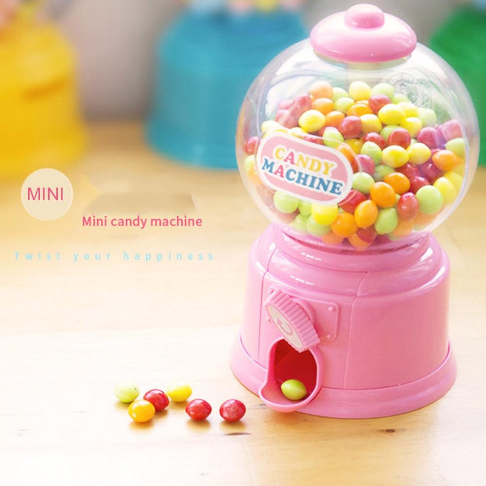 Mini Candy Maschine Kaugummi Ball Spender Münze Bank Kinder Ausbildungen Spielzeug Nette Sweets Sparen Sie Geld Spiele Geburtstag Neue Jahr geschenke