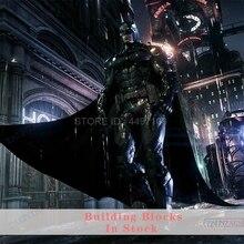 Arkham cavaleiro clayface dc filme figura de ação batman dr hugo relógio rei homem de ferro bat gotham cidade criador brinquedos blocos de construção