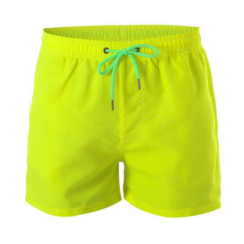 Модные мужские пляжные шорты 2021, плавательные шорты для серфинга, мужские шорты-бермуды, одежда для плавания, мужские спортивные шорты для б...