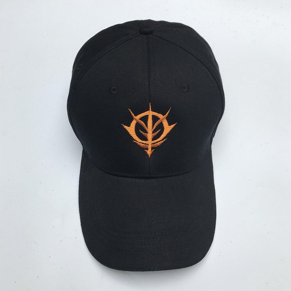 Mobile Suit Gundam Zeon Dukedom Cosplay Embroidery Hat Black / Red Baseball Cap