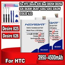 3950-4500mAh B2PUK100 B0PKX100 BOPKX100 bateria do HTC Desire 825 Dual D825H D825U 626 D626W D626T 626G 626S D262W D262D A32