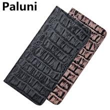 Business Style Natural Genuine Leather Magneitc Holder Phone Bag For HTC U Ultra/HTC U Play Phone Case Card Slot Holder Funda