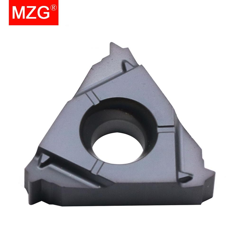 Внутренний инструмент для обработки нержавеющей стали MZG 16IR 075ISO ZP10, токарная резьба из твердосплавного сплава с ЧПУ