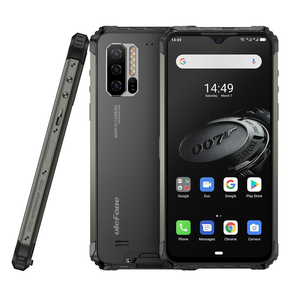 Ulefone Armor 7E глобальная версия прочный телефон Helio P90 128G 48MP камера смартфон 2,4G/5G WiFi водонепроницаемый IP68 Android 10,0 NFC