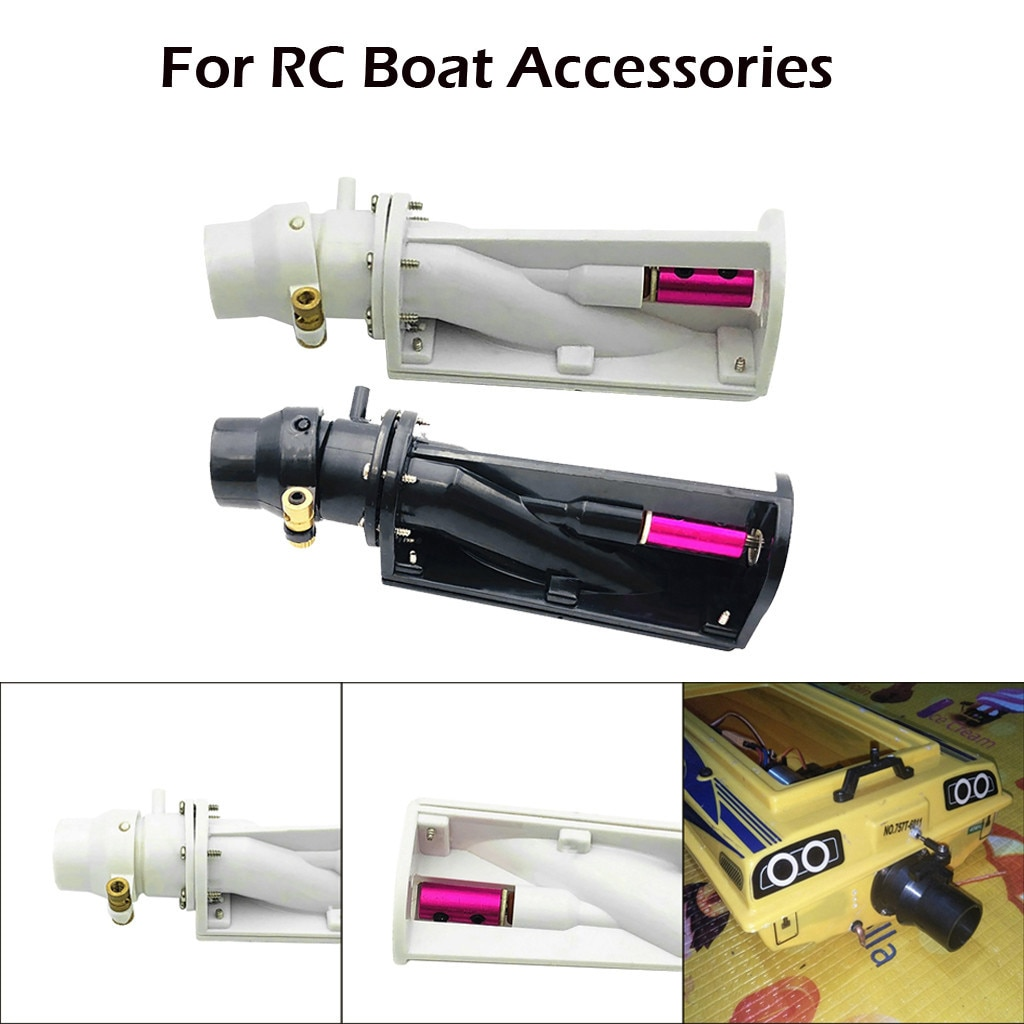 2021 New 6 - 12v Spray Thruster Water Turbo Power Servo Jet For Rc Boat Pull Accessories Kids Toys E