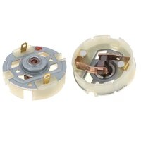 2pcs rs550 motor motor with copper brush charging drill electric screwdriver brush holder