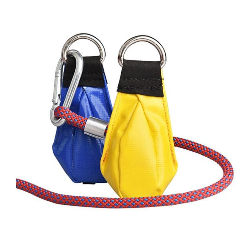 Multi-Purposes Climbing Rope Throwing Bag Rock Climbing Throwing Small Sandbag Climbing Rope Thrower Mountaineering Rope Bag L