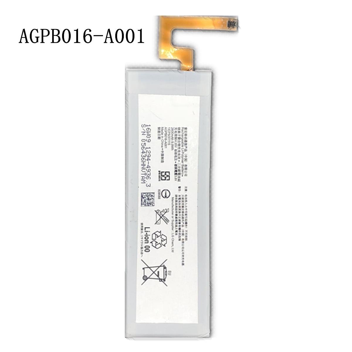 Nowy 2600mAh AGPB016-A001 wymiana baterii do Sony Sony Xperia M5 E5603 E5606 E5653 E5633 E5643 E5663 E5603 E5606