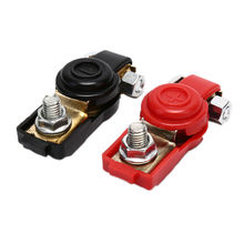 Pince de câbles Terminal de batterie   Connecteur de véhicule de voiture robuste, accessoires de voiture durables