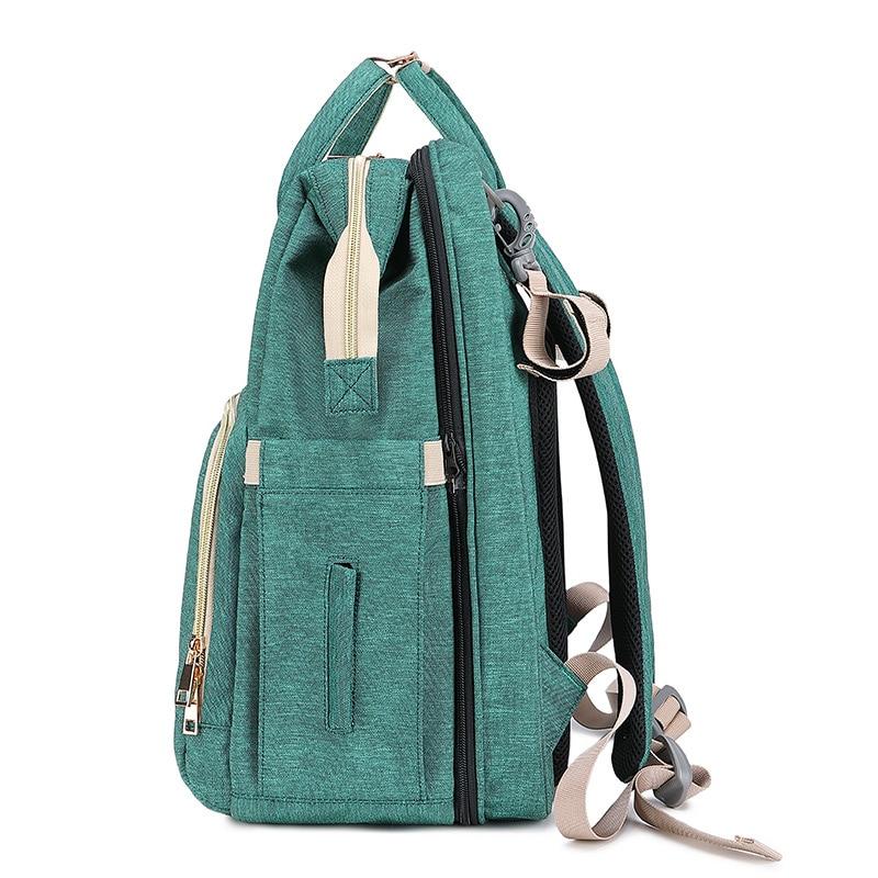 Multifunctional Large Capacity 2in1 Baby Diaper Bag Backpack Bags Travel Portable Crib Maternity Baby Bag For Mom Diaper Bag enlarge