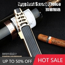Zb588 direct lance cigar outdoor welding torch metal outdoor personality lighter can print logo