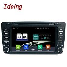 Idoing Android 9,0 4G + 64G 8Core 2Din Lenkung-Rad Für Skoda Octavia 2 Auto Multimedia DVD Player 1080P HDP GPS + Glonass 2 din