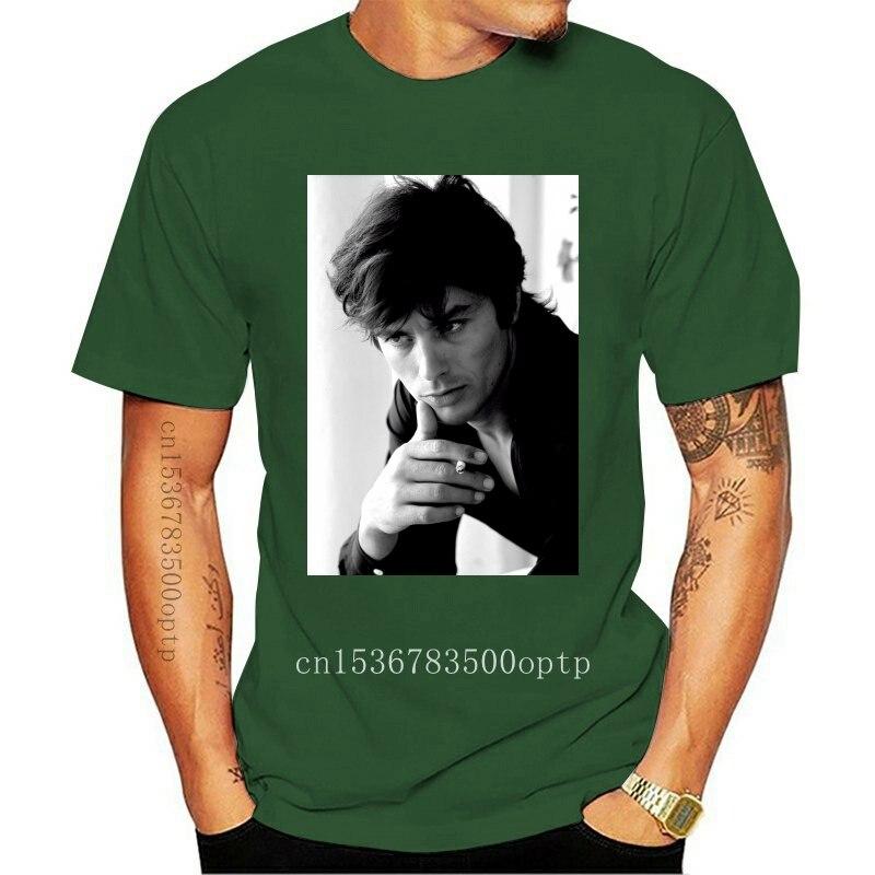 2020 Ropa Camisetas pantalón corto Casual hombres Alain Delon: camiseta foto celebridad...