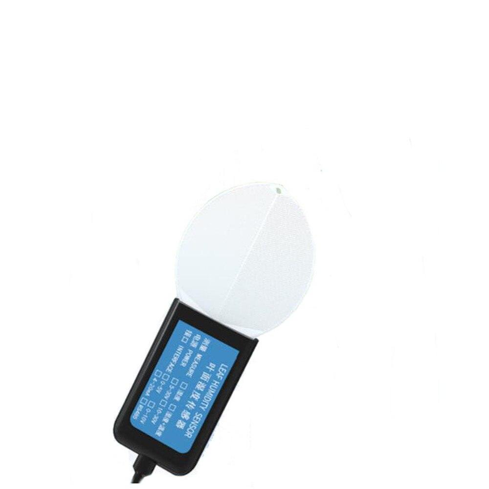 Taidacent RS485 Modbus 0-5V/10V 4-20mA Moisture Sensor Plant Tree Humidity Sensor Probe Leaf Temperature and Humidity Sensor enlarge