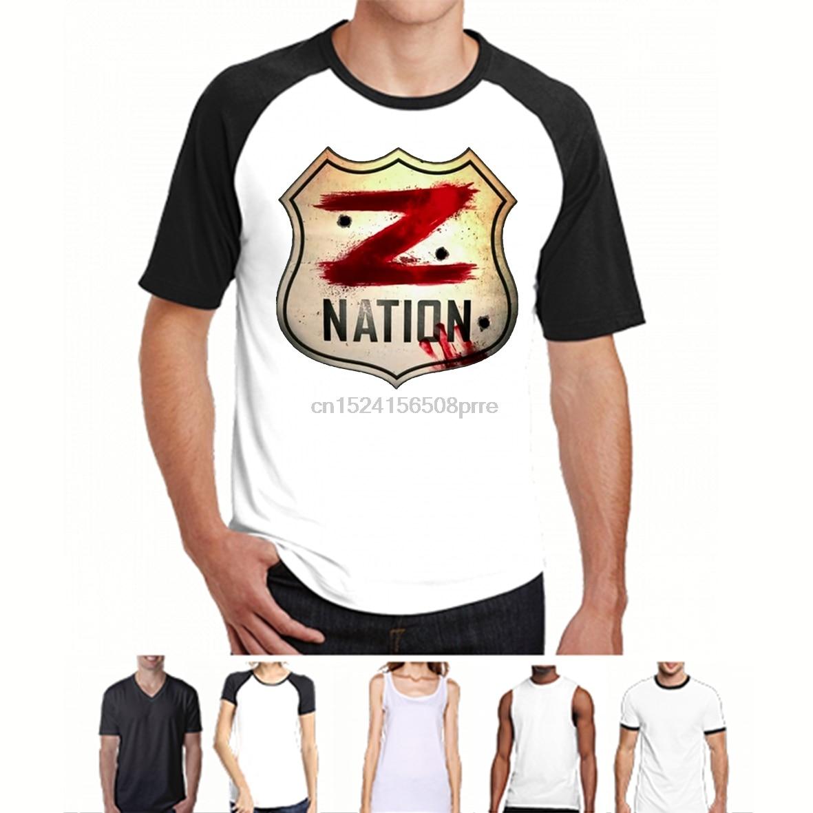 Printed Men T Shirt Cotton tshirts O-Neck Short-Sleeve Z Nation Women T-Shirt