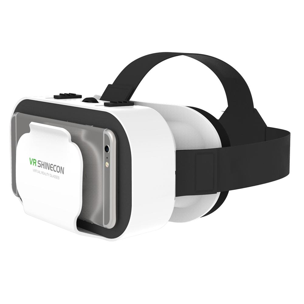 Очки виртуальной реальности VR SHINECON, универсальные очки виртуальной реальности для мобильных игр, фильмы 360 HD, совместимые со смартфонами 4,7-6...