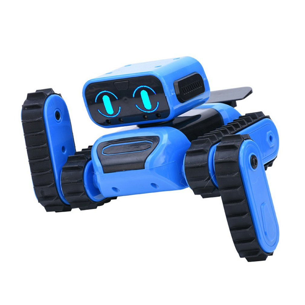 DIY RC Programming Robot With Gesture Sensing Obstacle Avoidance Singing Dancing Robot Toys With Remote Control