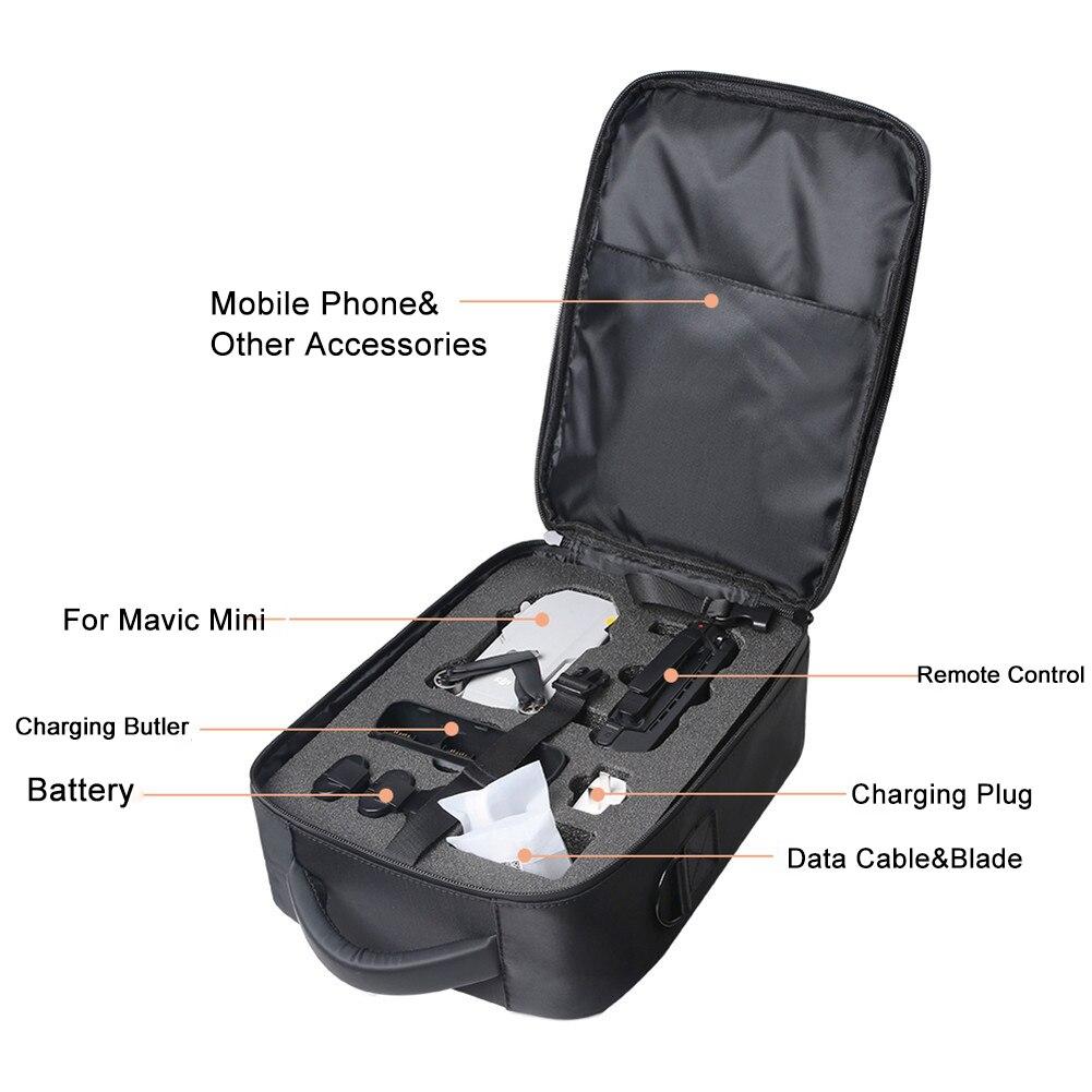 Drone Bag Waterproof Upgraded Storage Bag Travel Case Carring Shoulder Bags Messenger Bag Drone Accessories For DJI Mavic Mini enlarge