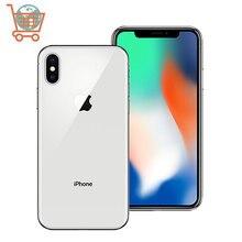 Оригинальный Apple iPhone X разблокирован смартфон 64GB/256GB ROM iOS шестиядерный 5,8 дюймов полный экран 4G мобильный телефон