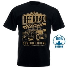 Off Road Hot Rod Custom Build Mashup Dtg Mens T Shirt Tees New 2018100% Cotton Short Sleeve O-Neck Tops Tee Shirts Black Style