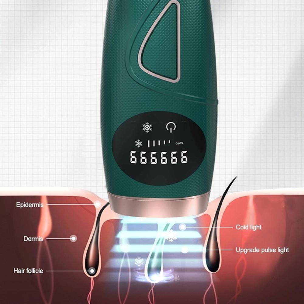 AIFREE Portable Professional Laser Epilator From Home Permanent Skin Rejuvenation Ipl Hair Removal Instrument Hot enlarge