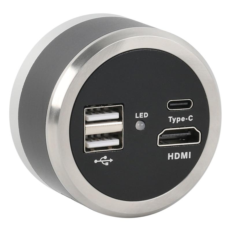 1080P HDMI USB2.0 الرقمية الصناعية مختبر فيديو مجهر كاميرا ل هاتف لوحي PCB IC مراقبة لحام إصلاح