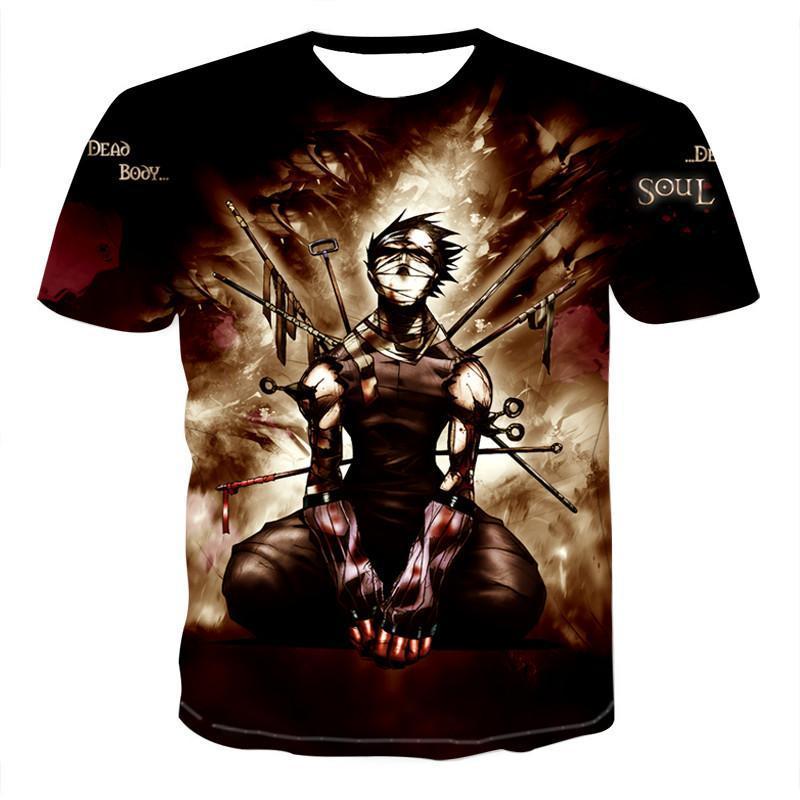 Novedad, 2020 Camiseta con estampado 3D de anime con personalidad para... camiseta...