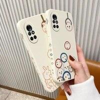happy doll pattern phone case for huawei nova8 8pro 8se nova 7 7pro 7se 6 6se 5 5pro 5z 5i 5ipro 4 4e silicone cover