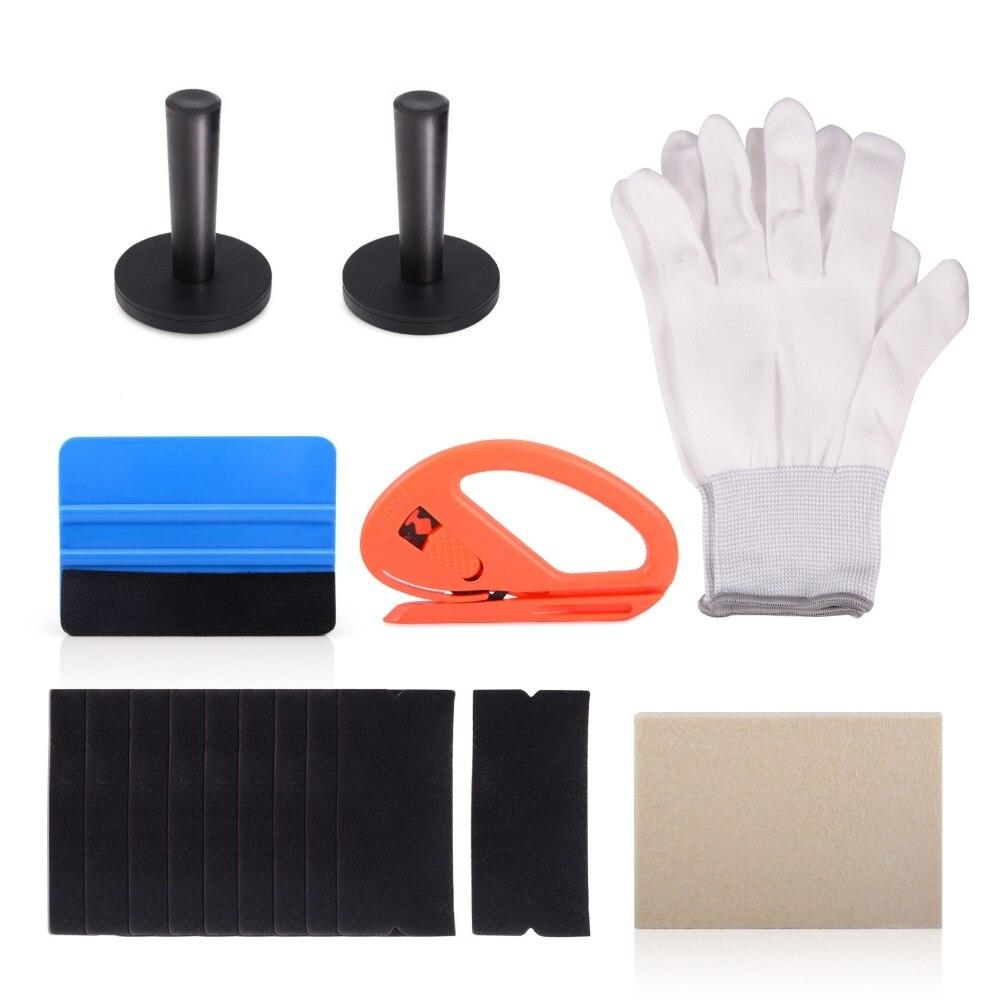 Набор виниловых инструментов для обертывания автомобиля ehris 3d, автомобильные наклейки, магнитные держатели, углеродная пленка, резак, нож, о...