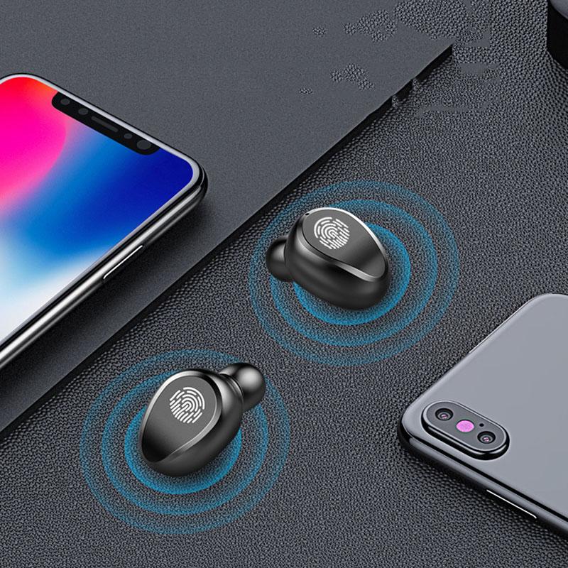 5Pcs/Lot Wireless Headphones Bluetooth 5.0 Earphones 3500mAh Metal Charging Box Hifi Stereo CVC8.0 Sports Earbuds Headsets enlarge