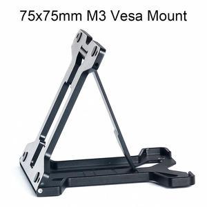 Высокое качество Vesa крепление смарт-монитор, подставка для imac НОУТБУК настольная стена алюминиевый сплав регулируемый мини размер 75x75 мм M3
