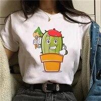 2021 fashion female top tees summer short shirt kawaii cute girls white t shirts women tshirt graphic print harajuku ullzang