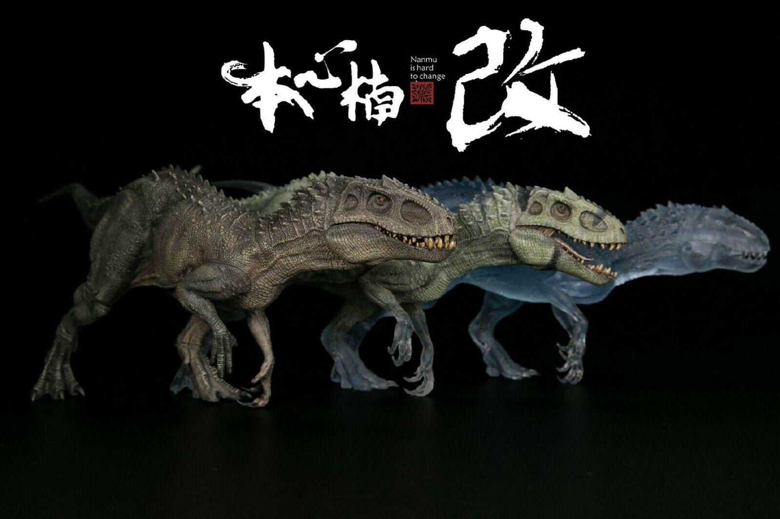1:35 شفافة شفافة Bereserker ريكس الديناصور الجوراسي نماذج للحيوانات الشكل جمع الكبار البيولوجية القديمة