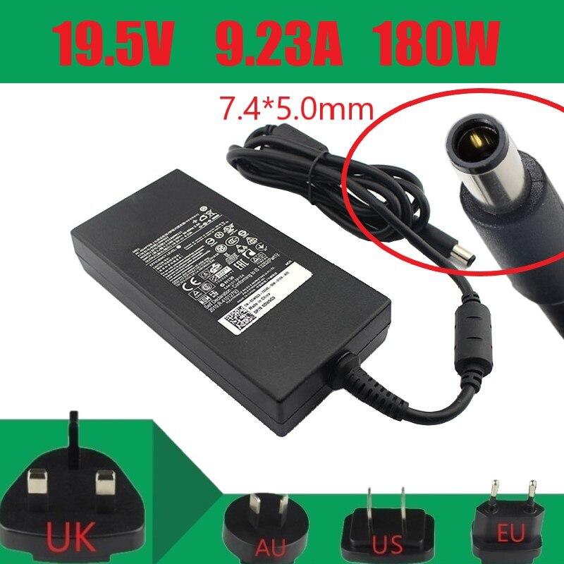 حقيقية 19.5V 9.23A 180W كمبيوتر محمول AC DC محول شاحن لأجهزة DELL DW5G3 0DW5G3 ADP-180MB D DA180PM111 امدادات الطاقة