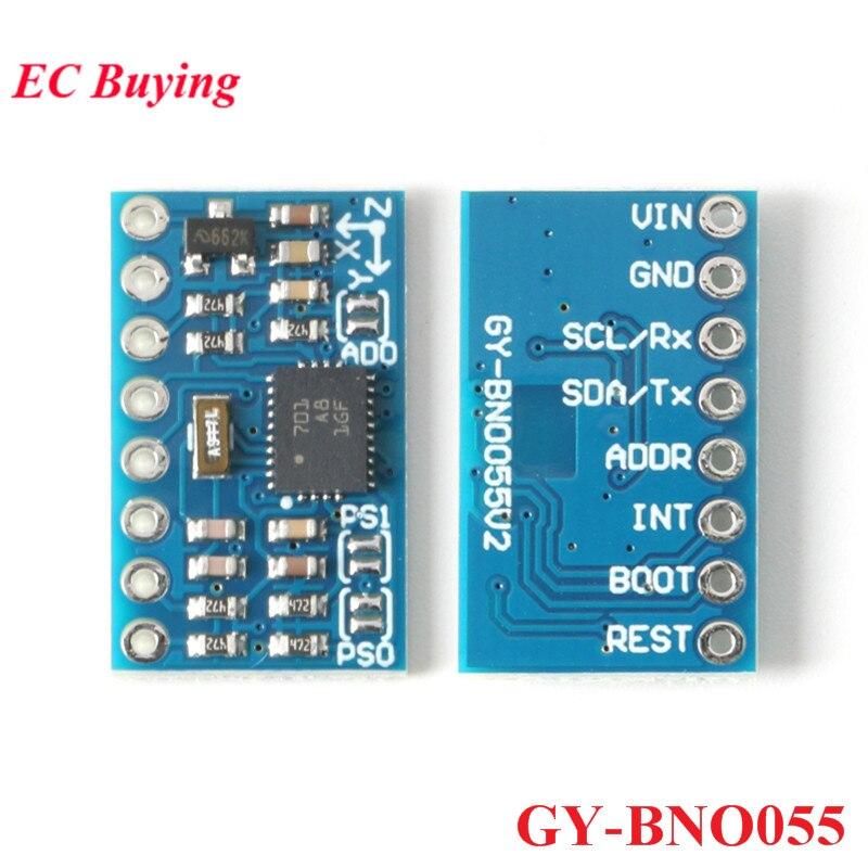 GY-BNO055 Sensor Module BNO055 9DOF 9-axis Absolute Orientation Sensor Board IIC 32Bit MCU for Arduino Electronic DIY