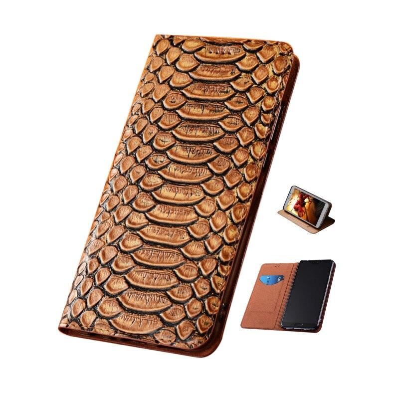 Python textura de couro genuíno caso coldre capa magnética para nokia 7.1 plus/nokia 6.1 plus/nokia 5.1 mais telefone saco titular do cartão