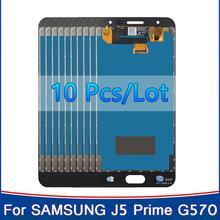 10 pièce/lot Test LCD dorigine pour Samsung Galaxy J5 Prime J5P G570 G570F G570Y LCD écran tactile numériseur assemblée