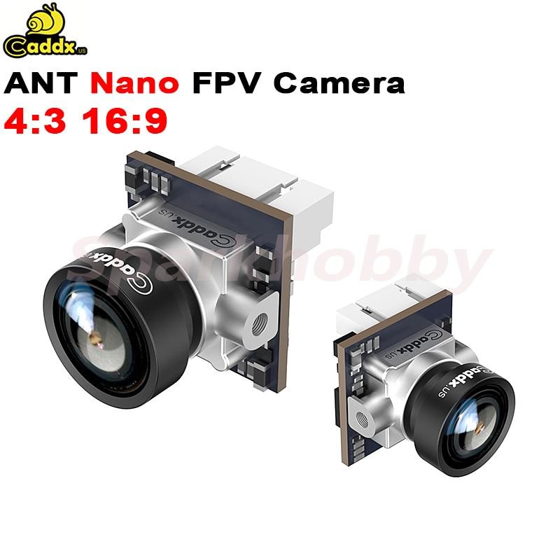 Caddx ANT-كاميرا FPV Nano ، عدسة 1.8 مللي متر ، 16:9/4:3 ، WDR عالمي ، مع OSD 3D DNR NTSC PAL 2g ، لـ RC FPV