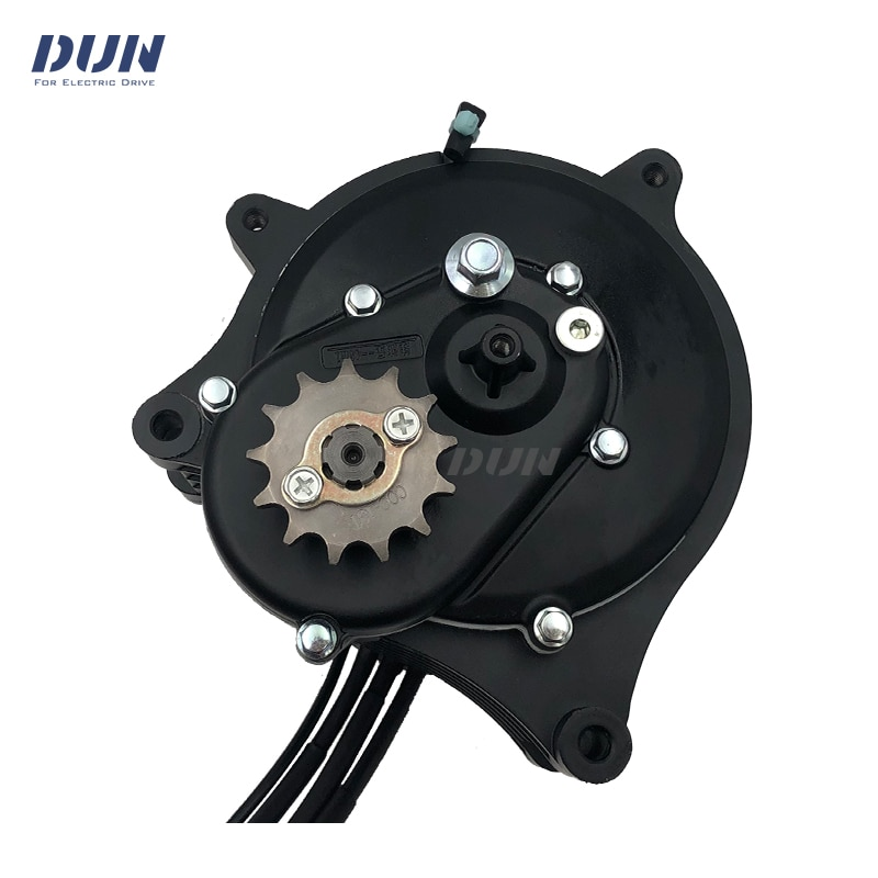QS138 70H 3000W V3 100kmh BLDC PMSM Mid-Drive Motor With Internal Reduction Gears For Electric Motorcycle Moped DirtBike enlarge